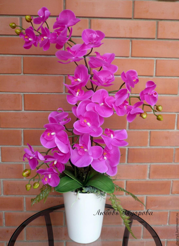 Как сделать искусственные орхидеи