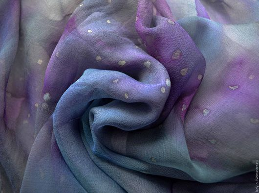 зимняя мода, шёлковый шарф