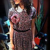 """Одежда ручной работы. Ярмарка Мастеров - ручная работа Платье """"Нежный цветок"""". Handmade."""