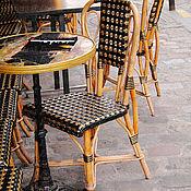 """Картины и панно ручной работы. Ярмарка Мастеров - ручная работа Фотокартина """"Париж. Кафе на Монмартре"""". Handmade."""
