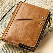 Сумки и аксессуары handmade. Livemaster - original item Men`s Lycurgus Genuine Leather Driver Wallet. Handmade.