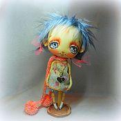 Куклы и игрушки ручной работы. Ярмарка Мастеров - ручная работа Милые серые глаза...или береги ее большое сердце.. Handmade.