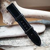 Украшения handmade. Livemaster - original item Watch band genuine leather 18mm/20mm/22mm/24mm. Handmade.