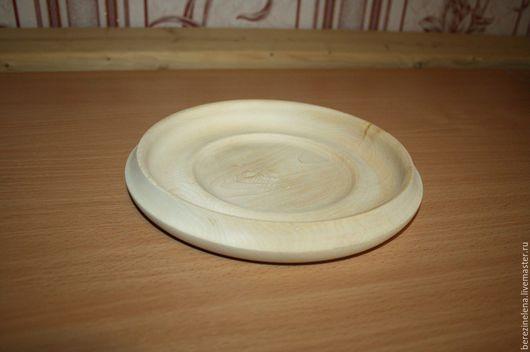 Тарелки ручной работы. Ярмарка Мастеров - ручная работа. Купить Деревянная тарелка из липы. Handmade. Бежевый, Деревянная посуда