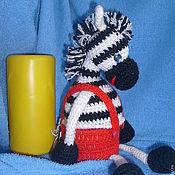 Куклы и игрушки ручной работы. Ярмарка Мастеров - ручная работа Зебра Марта. Handmade.