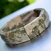 Украшения handmade. Livemaster - original item Women`s bracelet natural white Jasper. Handmade.