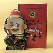 handmade. Livemaster - original item Firefighter: Fire Safety Kit. Handmade.