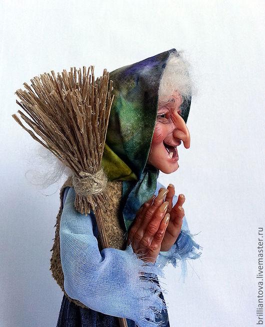 """Коллекционные куклы ручной работы. Ярмарка Мастеров - ручная работа. Купить Кукла """"Старушка-Веселушка"""". Handmade. Кукла, prosculpt"""
