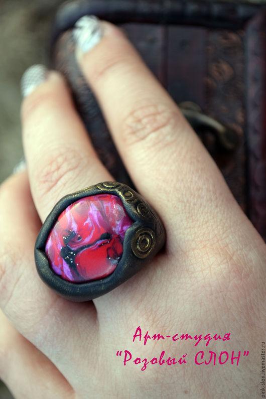 """Кольца ручной работы. Ярмарка Мастеров - ручная работа. Купить Кольцо """"Испанская баллада"""", кольцо из полимерной глины. Handmade."""