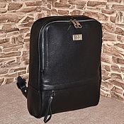 Сумки и аксессуары handmade. Livemaster - original item Model 941 Genuine Leather Backpack Leather Backpack. Handmade.