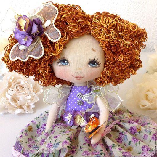 Ароматизированные куклы ручной работы. Ярмарка Мастеров - ручная работа. Купить Анюта. Handmade. Коллекционная кукла, текстильная кукла