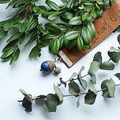 "Канцелярские товары ручной работы. Ярмарка Мастеров - ручная работа Закладка для книги ""blueberry acorn"". Handmade."