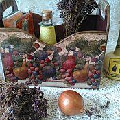Для дома и интерьера ручной работы. Ярмарка Мастеров - ручная работа Короб для хранения. Handmade.