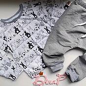 Работы для детей, ручной работы. Ярмарка Мастеров - ручная работа Свитшот+ штаны. Handmade.