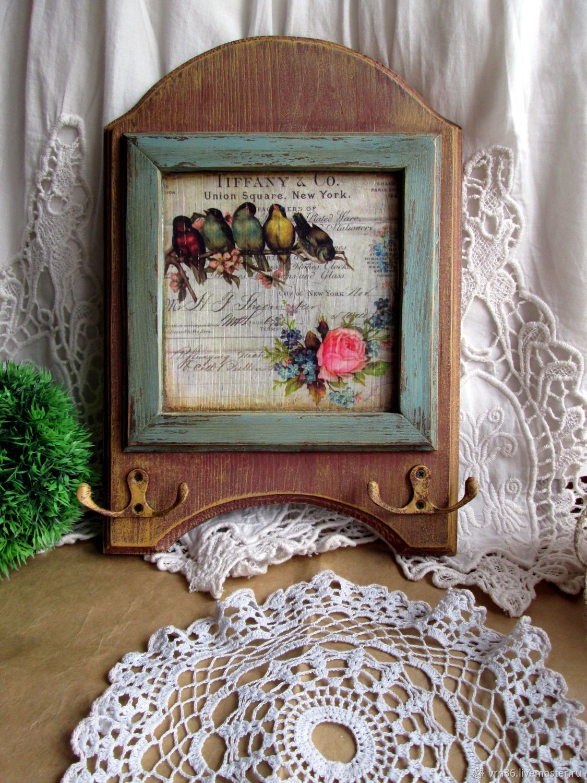 Housekeeper-hanger birds, Entrance Hall handmade, Voronezh, Фото №1