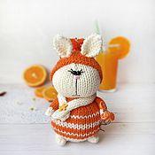 Куклы и игрушки handmade. Livemaster - original item Honey Tangerine. knitted toy. Handmade.