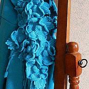 """Одежда ручной работы. Ярмарка Мастеров - ручная работа """"Бирюзовый"""" Кардиган. Handmade."""