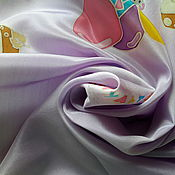 """Аксессуары ручной работы. Ярмарка Мастеров - ручная работа Платочек шелк""""Котенок по имени Гав""""серия""""Куда уходит детство?"""". Handmade."""
