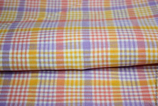 Шитье ручной работы. Ярмарка Мастеров - ручная работа. Купить ткань для постельного белья. Handmade. Разноцветный, белорусский лен