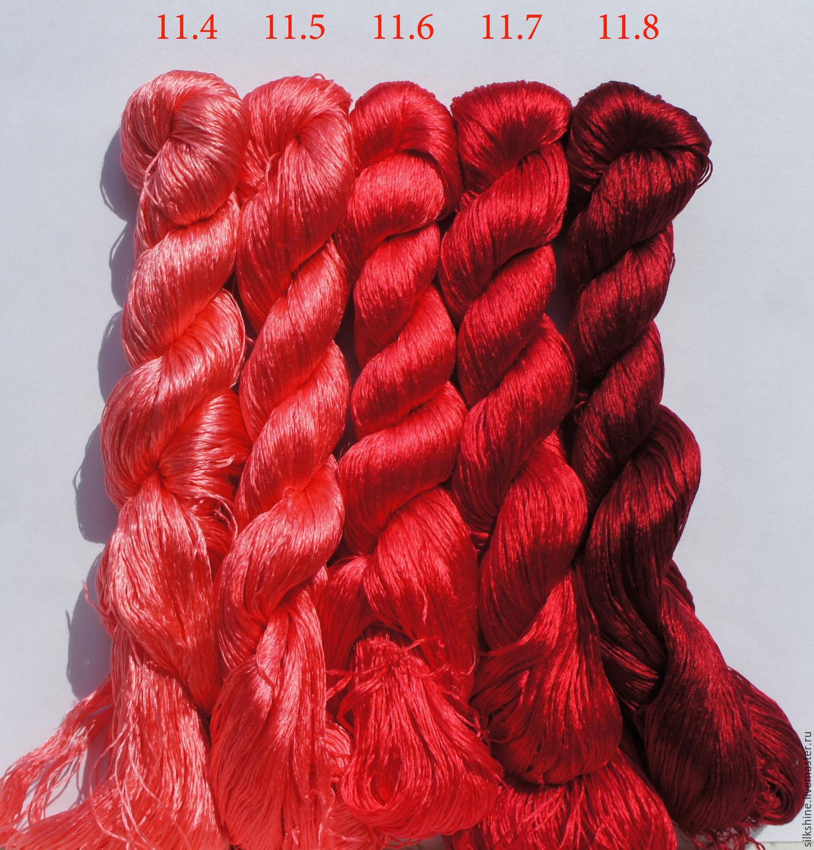 Шелковые нитки для вышивания 10