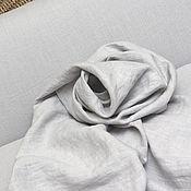 Ткани ручной работы. Ярмарка Мастеров - ручная работа Ткань льняная, цвет : жемчужный. Handmade.