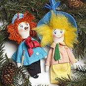 Куклы и игрушки handmade. Livemaster - original item Heroes of the fairy tale Pencil and dunno.. Handmade.