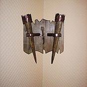 Для дома и интерьера ручной работы. Ярмарка Мастеров - ручная работа Бра  угловое парное. Handmade.