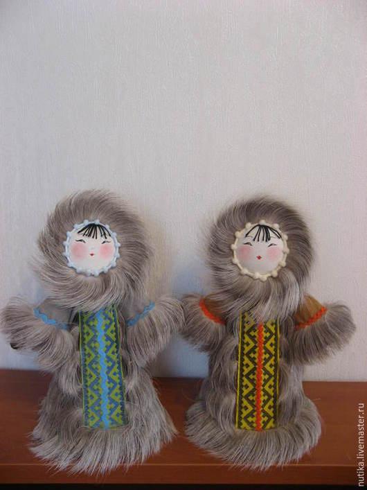 Народные куклы ручной работы. Ярмарка Мастеров - ручная работа. Купить Кукла Северянка , мех оленя. Handmade. Разноцветный, этно