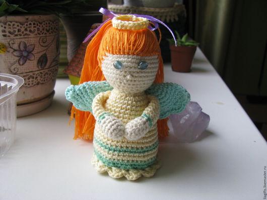 """Человечки ручной работы. Ярмарка Мастеров - ручная работа. Купить Кукла  """"Ангел-хранитель"""". Handmade. Комбинированный, игрушка ручной работы"""
