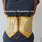 Аксессуары handmade. Livemaster - original item Belt - corset. Handmade.