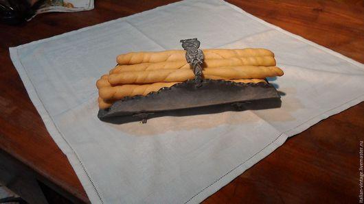 Винтажная посуда. Ярмарка Мастеров - ручная работа. Купить поднос для салфеток и сухарей, Италия. Handmade. Серый, ручная работа