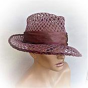 Аксессуары handmade. Livemaster - original item Rose for memory hat. Handmade.