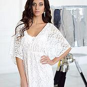 Платья ручной работы. Ярмарка Мастеров - ручная работа Будуарное платье с подкладкой. Handmade.