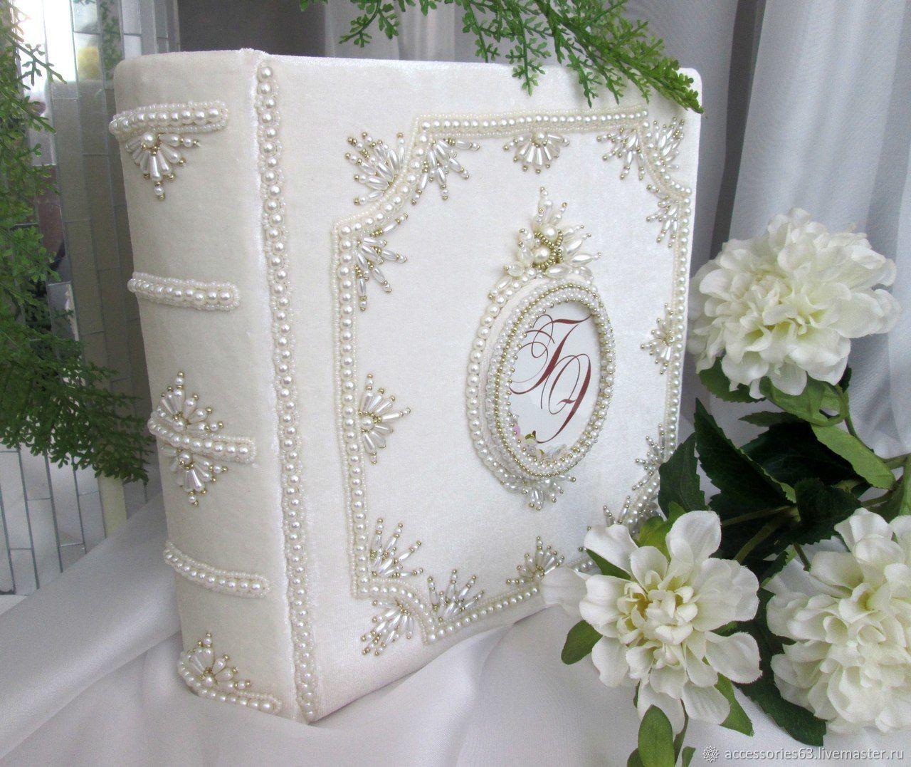 Свадебный фотоальбом с инициалами, Фотоальбомы, Отрадный,  Фото №1