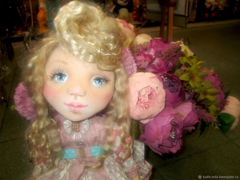 Коллекционные куклы ручной работы. Ярмарка Мастеров - ручная работа. Купить Кукла Оленька. Handmade. Интерьерная кукла, подарок эксклюзивный