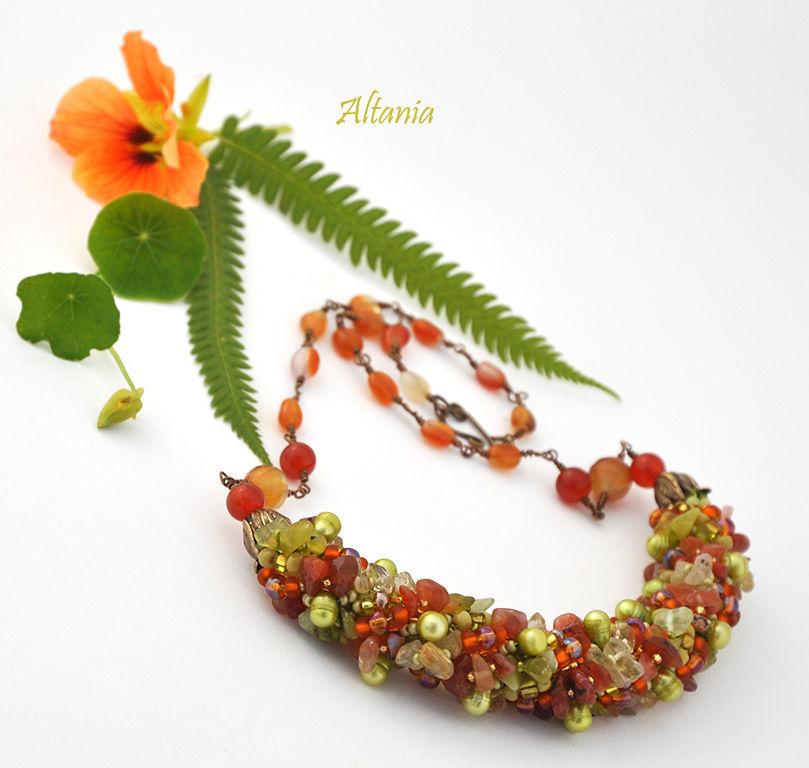Indian summer - necklace No. №2, Necklace, Sarov,  Фото №1