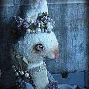 """Куклы и игрушки ручной работы. Ярмарка Мастеров - ручная работа Заяц """"Фиалка в сахаре"""". Handmade."""