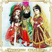 Куклы и игрушки handmade. Livemaster - original item Persian, Indian and Sultan (Raja) - national dolls. Handmade.