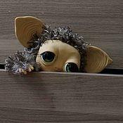 Куклы и игрушки ручной работы. Ярмарка Мастеров - ручная работа Зеленоглазый лесной тролльчонок. Handmade.