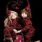 """Куклы и игрушки ручной работы. Ярмарка Мастеров - ручная работа Кукла """"Вишнёвый компот"""""""". Handmade."""