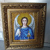 Картины и панно handmade. Livemaster - original item The Icon Of The Holy Guardian Angel. Handmade.