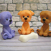 Косметика ручной работы handmade. Livemaster - original item Soap Puppy with sadness. Handmade.