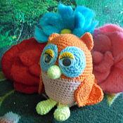 """Куклы и игрушки ручной работы. Ярмарка Мастеров - ручная работа игрушка крючком """"Сова Соня и Ко"""". Handmade."""