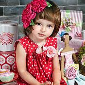 Работы для детей, ручной работы. Ярмарка Мастеров - ручная работа Tilda`s summer - платье для девочки. Handmade.