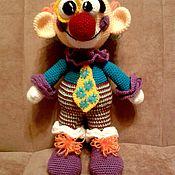Куклы и игрушки ручной работы. Ярмарка Мастеров - ручная работа Веселый клоун. Handmade.