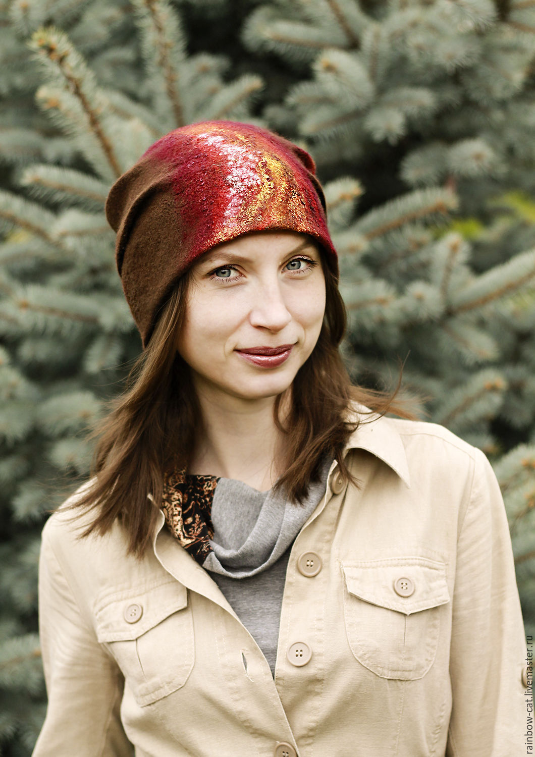 Hats handmade. Livemaster - handmade. Buy Felted hat 'Very hot chocolate'.Brown, warm hat, hat felted wool