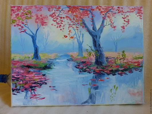 Утро цветения сакуры
