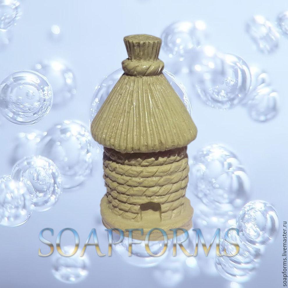 Силиконовая форма для мыла и свечей `Улей` 3D