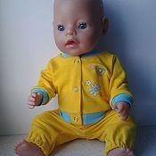 Куклы и игрушки handmade. Livemaster - original item a set of clothes for baby bon (baby born). Handmade.