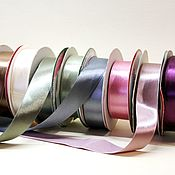 Ленты ручной работы. Ярмарка Мастеров - ручная работа Лента атласная 25 мм. для букетов и подарков. Handmade.
